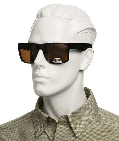Очки с коричневыми поляризованными линзами  Артикул: А02. Входят в комплект