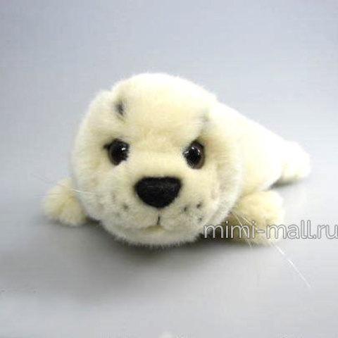 Мягкая игрушка Морской котик бежевый 20 см (Leosco)