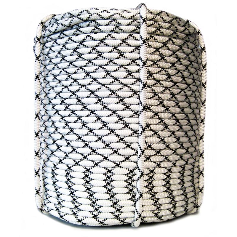 Веревка статическая 10 мм 48-прядная