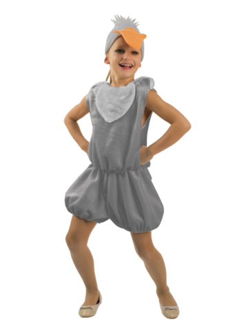 Детский карнавальный костюм Гусенок