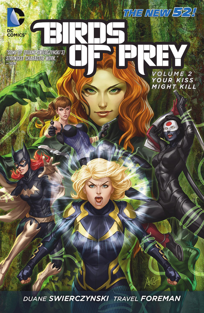 Birds of Prey TPB #2 Your Kiss Might Kill (New 52)