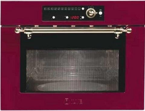 Встраиваемая микроволновая печь ILVE 645NTKCW RB (бордо)