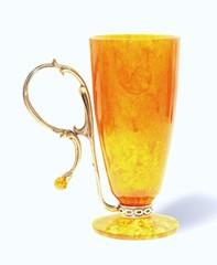 Янтарный бокал для пунша