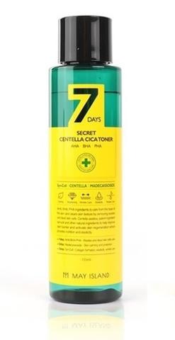 MAY ISLAND 7Days Тонер для лица 7days secret centella cica toner 155 мл