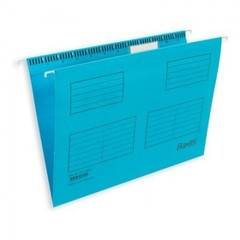 Подвесная регистратура папка BANTEX голубая А4 25 шт. Дания 100331432/34601