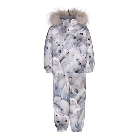 Комбинезон Molo Polaris Fur Polar Bear зимний