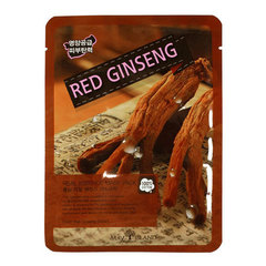 May Island Real Essence Mask Pack Red Ginseng - Тканевая маска для лица с экстрактом корня красного женьшеня