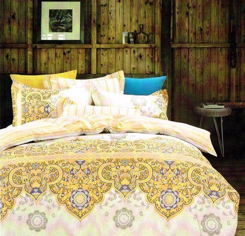 Семейное постельное белье сатин-твил G738