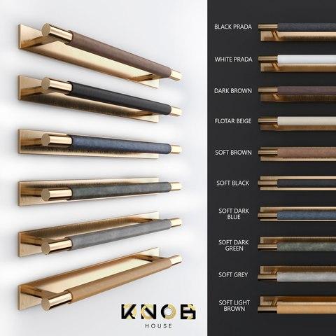Ручка скоба N23 Leather