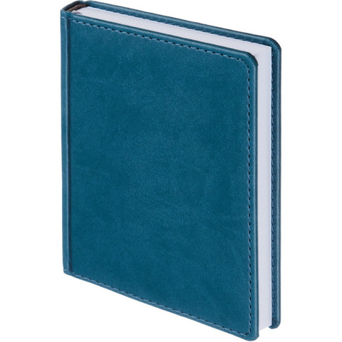 Ежедневник недат,бирюзовый,А6,110х155мм,176л,ATTACHE Сиам