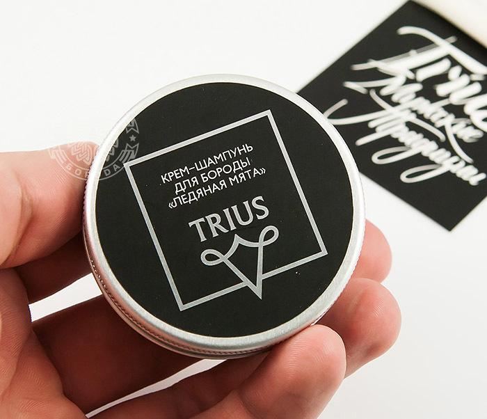 RAZ243-2 Мыло шампунь для бороды TRIUS «Ледяная Мята» (50 мл) фото 03
