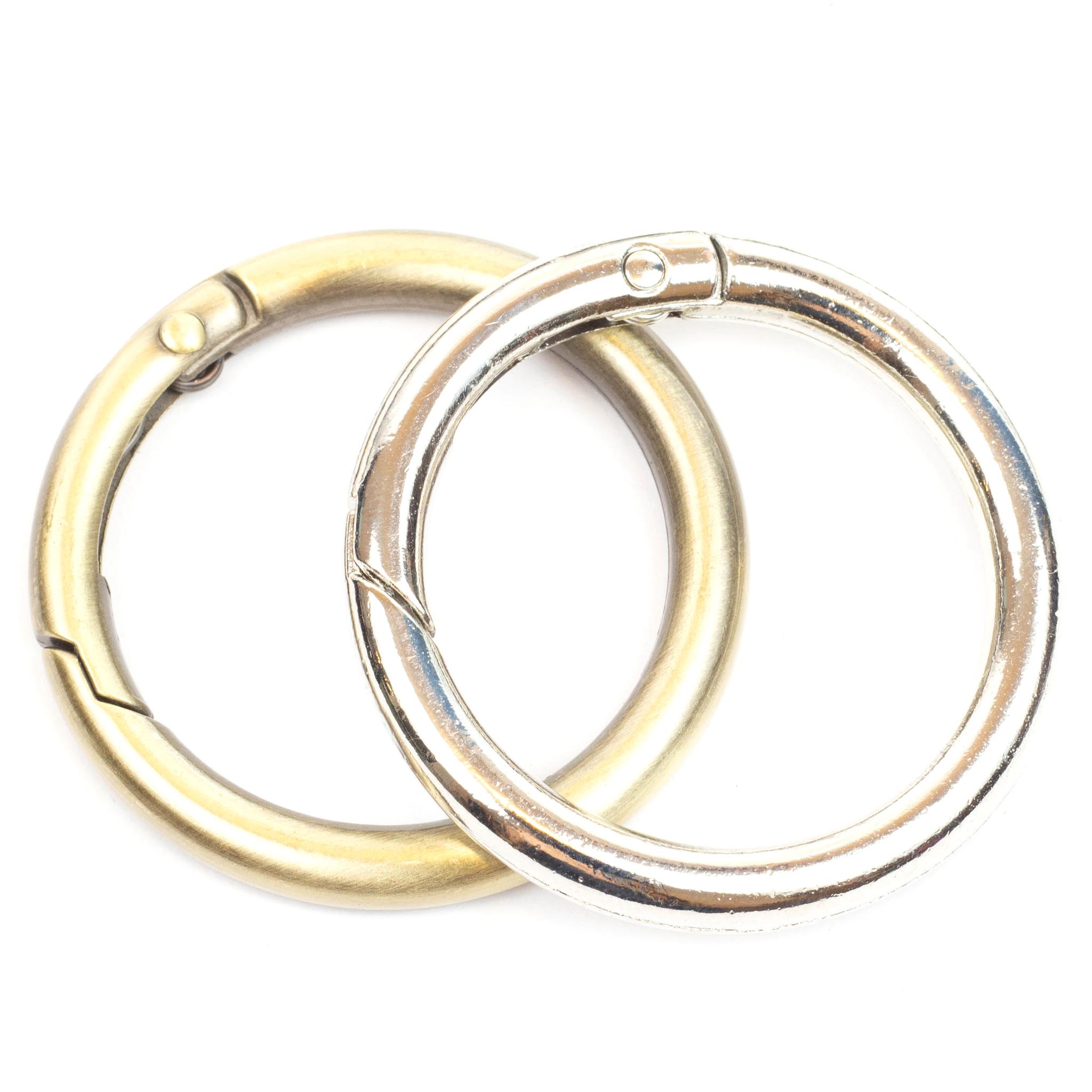 Карабины Карабин-кольцо 31мм  (цвет на выбор) IMG_0020_1.jpg