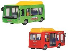 Dickie Городской автобус фрикционный, 16 см, в ассортименте (3823003/3314321)