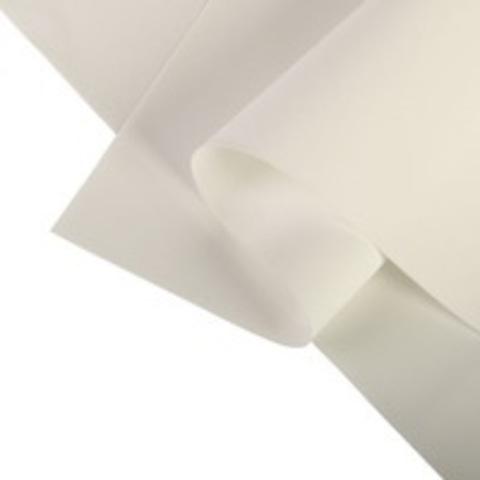 Фоамиран зефирный 1мм, цвет белый №101, размер 60х70. Цена за 1уп (10 листов).