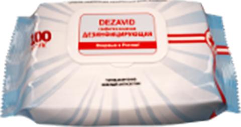 Салфетка влажная дезинфицирующая «Дезавид» без запаха