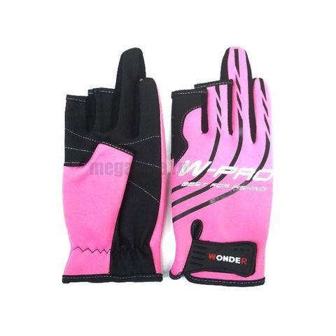 Перчатки Wonder розовые WG-FGL / размер S