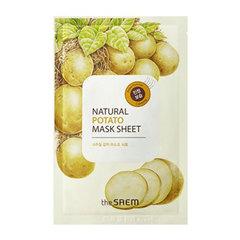Saem Natural Potato Mask Sheet - Маска тканевая с экстрактом картофеля