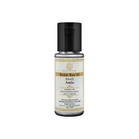 """""""Амла"""" масло для восстановления волос - без парабенов и минерального масла Khadi Natural, 50 мл"""