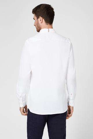 Мужская белая рубашка FLEX FINE Tommy Hilfiger