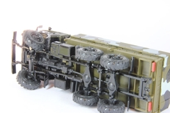 KAMAZ-43101-028 with awning camouflage (slewing wheels) Elecon 1:43