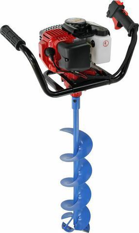 Мотобур DDE IceD-52-200 ледобур (двухтактный 52 куб.см., 1,8 кВт, редукция 25:1, 9,0 к (IceD-52-200)