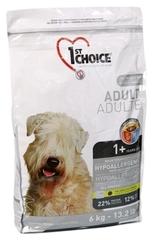 Корм для взрослых собак всех пород, 1st Choice Adult, гипоаллергенный, с уткой и картофелем