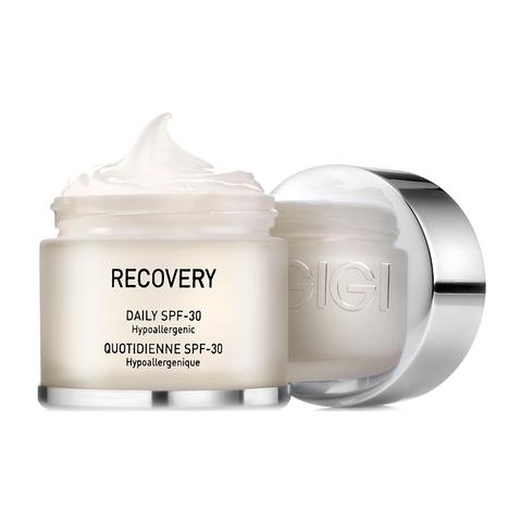 GIGI RECOVERY: крем увлажняющий восстанавливающий SPF 30 (DAILY SPF 30), 50 мл