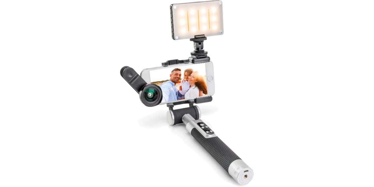 Осветитель светодиодный Pictar Smart Light с держателем для смартфона блогинг