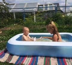 Надувной детский бассейн Rectangular Baby Pool