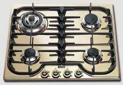 Газовая варочная панель ILVE H 60 CNV-O бриллиантовый латунный