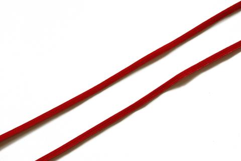 Резинка отделочная красная 4 мм