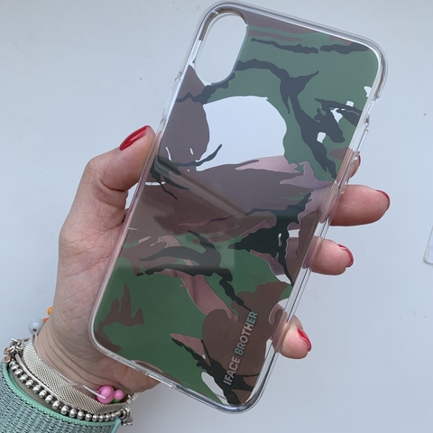 Чехол iPhone  XS Max Military Case /green/