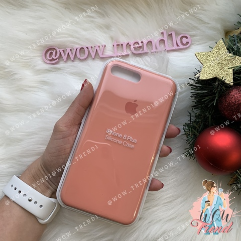 Чехол iPhone 7+/8+ Silicone Case /flamingo/ фламинго 1:1