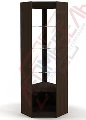 ВУ-6 Витрина стеклянная  угловая серия