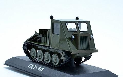 Модель Трактор №43 ТДТ-40 (история, люди, маши