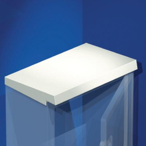 Козырёк дождезащитный для шкафов CE, 500 x 250 мм