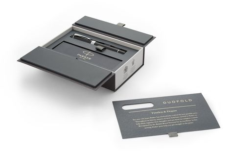Перьевая ручка Parker Duofold Classic Black CT International123