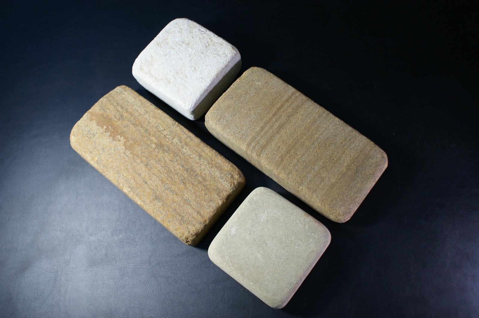 Набор Брусчатки песчаник галтованный Венге с Жемчугом на мощение