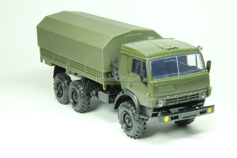 KAMAZ-43101-028 with awning khaki Elecon 1:43