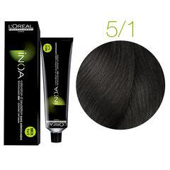 L'Oreal Professionnel INOA 5.1 (Темно-русый пепельный) - Краска для волос