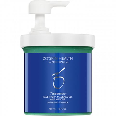 ZO Skin Health Ossential Aloe Hydra massage gel and masque (Увлажняющий массажный гель-маска с экстрактом алое), 450 мл.