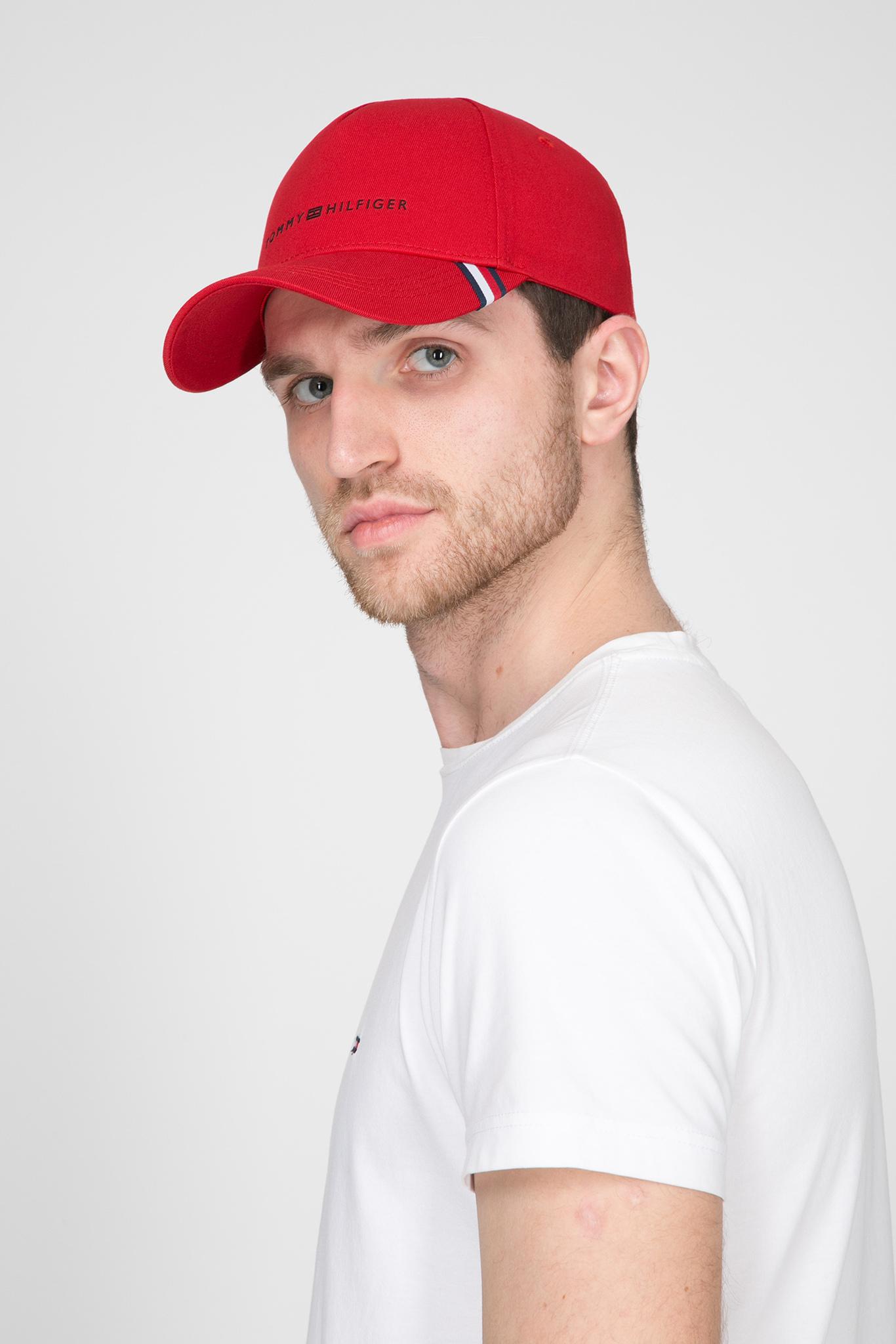 Мужская красная кепка UPTOWN Tommy Hilfiger