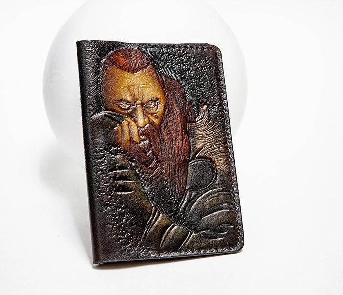 Boroda Design, Обложка из кожи ручной работы «Викинг»