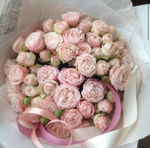 Букет из пионовидных роз Бомбастик #14321