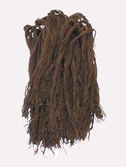 Джут крашенный - св. коричневый, 400 грамм