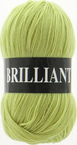Пряжа Brilliant Vita 4962 желто-зеленый фото