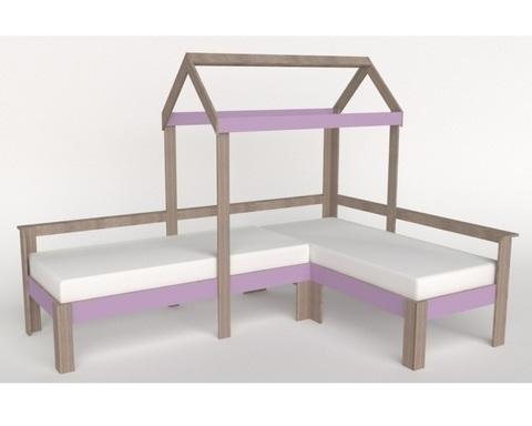 Кровать АВАРА-1 левая