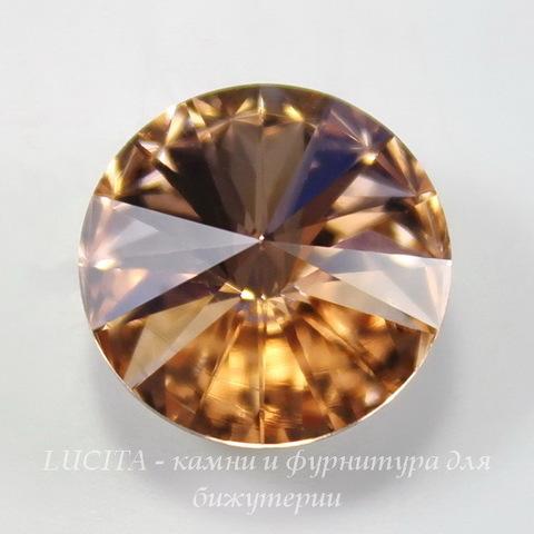 1122 Rivoli Ювелирные стразы Сваровски Light Peach (14 мм) ()