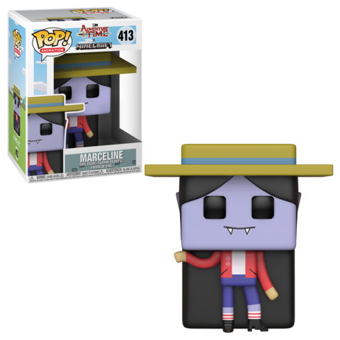Marceline Adventure Time - Minecraft Funko Pop! Vinyl Figure || Марселин