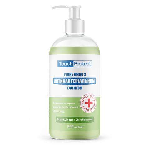 Жидкое мыло с антибактериальным эффектом Алое вера-Чайное дерево Touch Protect 500 мл (1)